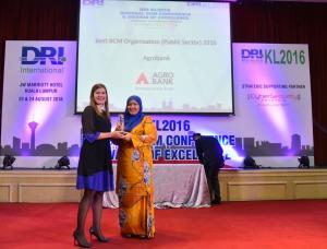 DRIKL2016 Awards AgroBank