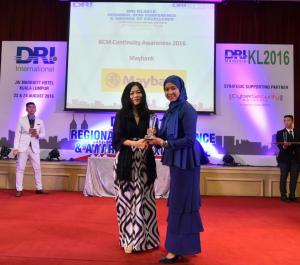 DRIKL2016 Awards Nazrah