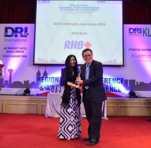 DRIKL2016 Awards RHB
